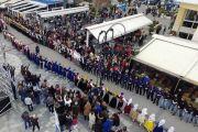 Ο Σύλλογος Κρητών Εύβοιας ο ΨΗΛΟΡΕΙΤΗΣ στα Θαλασσινά Γαϊτανάκια του Ευρίπου