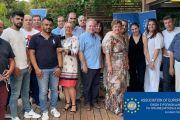 Δυνατές παρουσίες στο χώρο της δημοσιογραφίας στο νέο Δ.Σ της Ένωσης Ευρωπαίων Δημοσιογράφων - Πλειοψηφία γυναικών με προεξέχουσα την Διεθνή Πρόεδρο Σάγια Τσαουσίδου