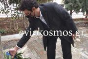 Ο Αντιδήμαρχος Νίκος Μπαράκος κατέθεσε στεφάνι τιμώντας τους αθάνατους ήρωες της επανάστασης του '21