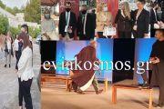O Περιφερειάρχης Φάνης Σπανός υποδέχθηκε την Πρόεδρο της Δημοκρατίας στο Θέατρο  «Φρύνιχος» στους Δελφούς- Η Περιφέρεια Στερεάς Ελλάδας στήριξε ηθικά και υλικά την έναρξη των  Ημερών Δελφικής Πολιτιστικής Κληρονομιάς