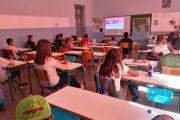 Μέλη της Ομάδας Πολιτών για τη διάσωση του Υγροβιότοπου του Κολοβρέχτη μίλησαν σε μαθητές για την αξία των υγροτόπων