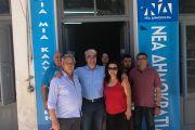 Απόψε παρουσιάζει ο Σίμος Κεδίκογλου το όραμα του για την Εύβοια σε συνάντηση φίλων στο Αλιβέρι – Τι δήλωσε από το εκλογικό κέντρο Αλιβερίου…