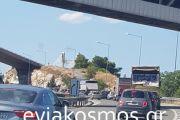 Ουρά χιλιομέτρων στην Υψηλή Γέφυρα Παρασκευή απόγευμα- Δρόμος μετ΄ εμποδίων ο παλιός…