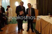 Τίμησε με την παρουσία του το Δημήτρη Κατσούλη ο Υποψήφιος Δήμαρχος Κύμης-Αλιβερίου Γιάννης Ελαιοτριβάρης