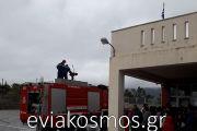 Το Πυροσβεστικό κλιμάκιο Κύμης «εκπαιδεύει» τα παιδιά…