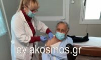 Κ.Υ ΑΛΙΒΕΡΙΟΥ: Η νοσηλεύτρια με το γλυκό χαμόγελο και το «ελαφρύ» χέρι που κερδίζει στις καρδιές των εμβολιαζόμενων!