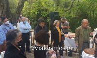 Οι κάτοικοι του Πυργίου τίμησαν τον Προστάτη τους Άγιο Γεώργιο στο γραφικό ξωκλήσι