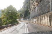 Καταπτώσεις βράχων στο Δερβένι- Ιδιαίτερη προσοχή στους οδηγούς που κινούνται από και προς τη Β. Εύβοια