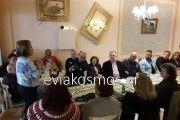 Πάντα δίπλα στους συλλόγους και τους φορείς του δήμου η δήμαρχος Ερέτριας Αμφιτρίτη Αλημπατέ