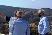 Στις καμένες περιοχές της Καρύστου ο Σίμος Κεδίκογλου- Τόνισε την επείγουσα ανάγκη άμεσης κατασκευής αντιδιαβρωτικών και αντιπλημμυρικών έργων
