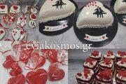 Έρωτας με την πρώτη ματιά ….τα γλυκίσματα στη Marisvi για του Αγίου Βαλεντίνου