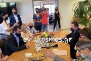 Άλλα 150 εκ ευρώ τρέχουν την επόμενη εβδομάδα από το «Τρίτσης»- Πέτσας- Σπανός- Παπαθωμά- Αγγελοπούλου στη Λιβαδειά -Συζήτηση εργασίας για το πρόγραμμα και τις προτάσεις του «Ελλάδα 2021»