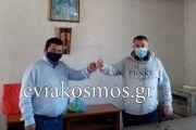 Όλα αρνητικά τα rapid tests που έγιναν μέχρι τώρα στο Προκόπι- «Κάνουμε τα πάντα για να περιορίσουμε τη διασπορά του ιού» δήλωσε ο Γιώργος Τσαπουρνιώτης