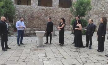 Ολοκληρώθηκε η κινηματογράφηση  του έργου «Παλιγγενεσία» στην εμβληματική Μονή του Οσίου Λουκά