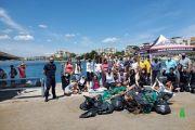 Πραγματοποιήθηκε υποβρύχιος και παράκτιος καθαρισμός στο Λευκαντί