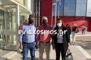 Ανδρέας Τοουλιάς: «Δεν υπάρχει κρούσμα σε Λέπουρα και Ψαχνά– Στη Χαλκίδα μένει ο 25χρονος ναυτικός- Στην Αθήνα η φοιτήτρια»