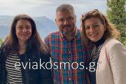 Μικρή ανάσα από τον προεκλογικό αγώνα για τον Παύλο Αϊβαζίδη που πέρασε το Σαββατοκύριακο στην Αράχωβα