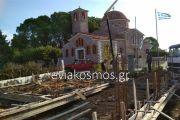 Έργο πνοής η κατασκευή του Πνευματικού Κέντρου της ενορίας του Ευαγγελισμού της Θεοτόκου στα Περιβόλια Καρυστίας