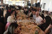 Πλήθος κόσμου στην εκδήλωση στην Κύμη για να στηρίξουν το Γιώργο …