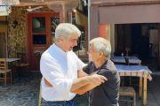 Το «ευχαριστώ» του Σίμου Κεδίκογλου στους συμπολίτες του-Από τη Βόρεια Εύβοια ξεκίνησε τις περιοδείες μετά τις εκλογές