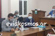Αυτή την ώρα στο δημοτικό συμβούλιο του Δήμου Κύμης-Αλιβερίου ο Διευθυντής του εργοστασίου στο Μηλάκι Βασίλης Καμπάνης ενημερώνει σχετικά με την καύση CLO