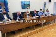 Το Επιμελητήριο Εύβοιας συμμετέχει στο σχέδιο ανασυγκρότησης της Β. Εύβοιας -Άκρως εποικοδομητική η συνεδρίαση του Περιφερειακού Επιμελητηριακού Συμβουλίου Στερεάς στη Λίμνη της Εύβοιας
