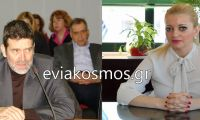 """Ο Πετσής σε ρόλο """"συνηγόρου"""" του Κώστα Μπακογιάννη στο Δημοτικό Συμβούλιο – Τον έπιασε «αδιάβαστο» η Λίνα Ευσταθίου"""