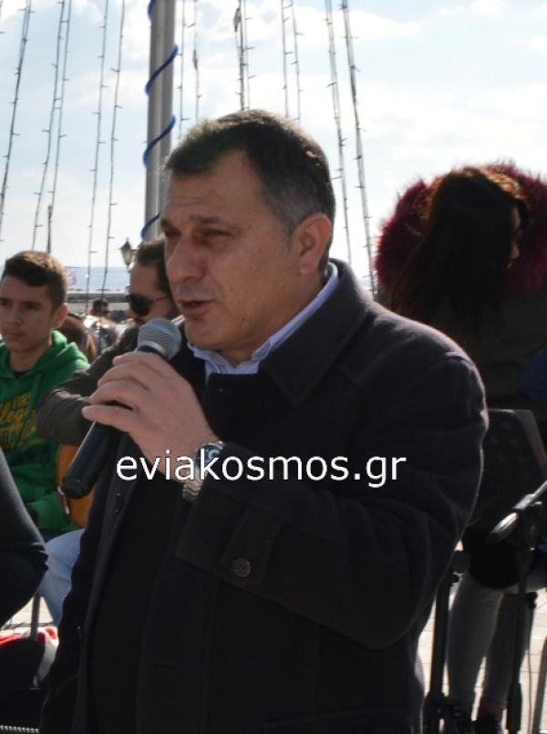 Με τον αέρα του υποψήφιου Προέδρου ο Κούκουζας στην Κάρυστο
